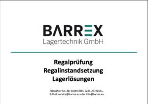 Leistungsübersicht der Barrex GmbH